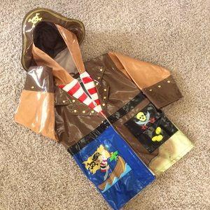 Kidorable Pirate Raincoat, 4T